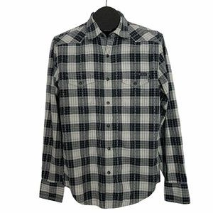 Lucky Brand Western Pearl Snap Shirt S Plaid